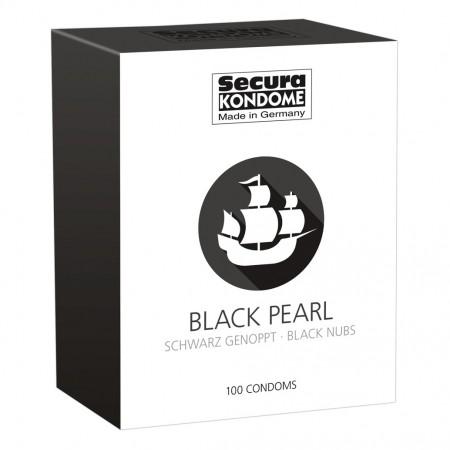 Secura Kondome Black Pearl x100 Condoms