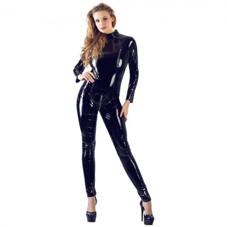 Black Level Vinyl Jumpsuit