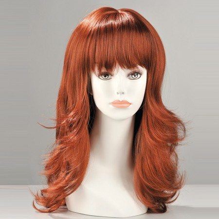 Fiona Red Long Wig