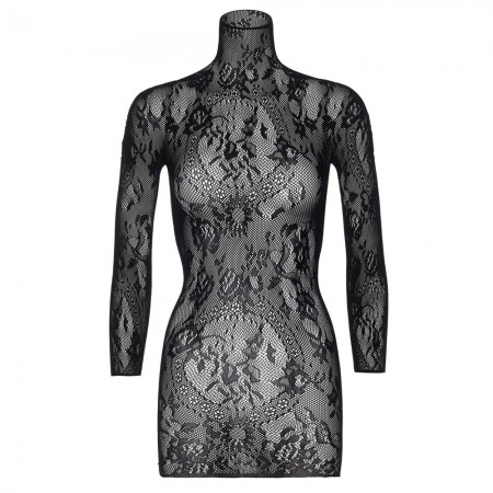 Leg Avenue Floral Lace Mini Dress UK 16 to 18