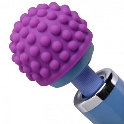 Wand Essentials Purple Massage Bumps Silicone Attachment