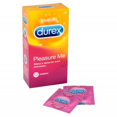 Durex Pleasure Me 12 Pack Condoms