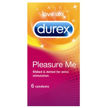 Durex Pleasure Me 6 Pack Condoms