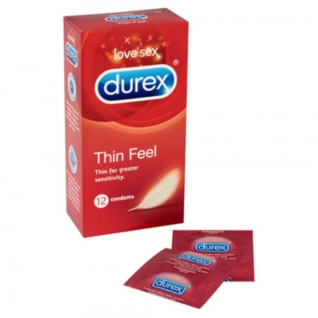 Durex Thin Feel 12 Pack Condoms
