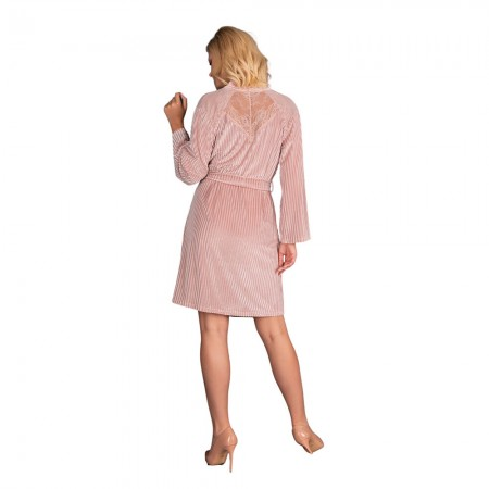 Corsetti Mikiss Dressing Gown Pink