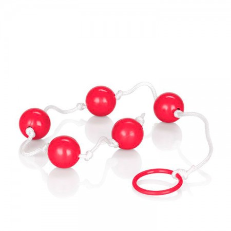 Medium Pleasure Anal Beads Assorted Colours