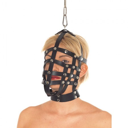Leather Muzzle Mask